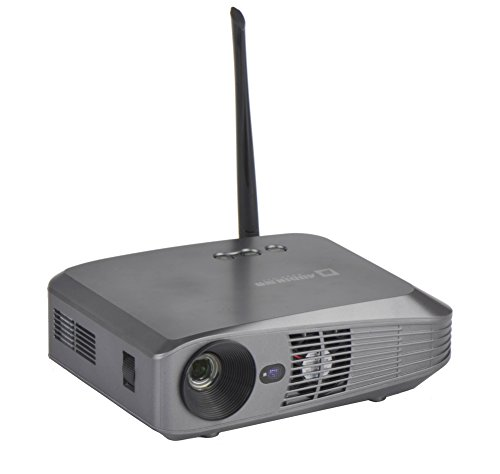 AODIN Android Smart DLP Projector – Portable Android 4.4 KitKat Quad-core ARM Cortex-A17 Builtin 2G