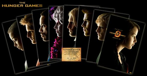 The Hunger Games Limited Edition Character Posters – (Set of 8) 27″x 40″