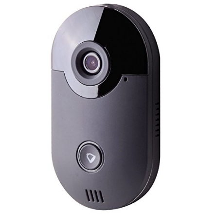 YYGIFT® Smart Video Wireless Doorbell Remote Access See Who's At the Door & Say Hello From Anywhere