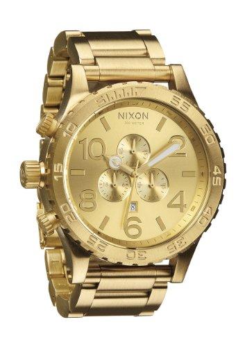 Nixon Men's 51-30 Chrono All Gold Watch