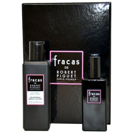 Robert Piguet Fracas for Women Gift Set (Eau De Parfum Spray, Silkening Body Lotion)