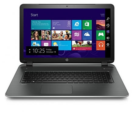 HP Pavilion 17-f230nr 17.3-Inch Laptop (Pentium, 4GB, 750GB HDD)