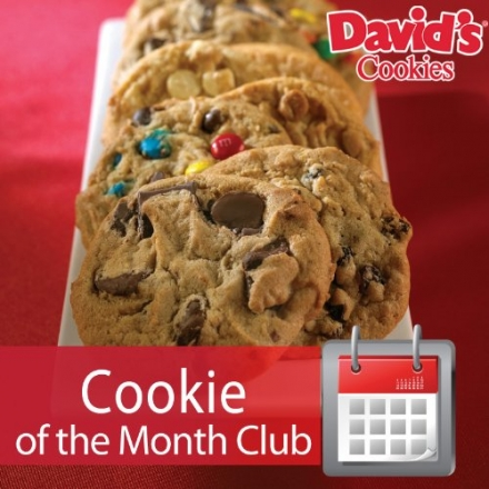 Cookie of the Month Club 12 Months 2 lb.