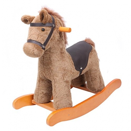 Labebe 1-3 Years Kids Knight Horse with Detachable Saddle Realistic Sounds [Toy]