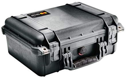 Pelican 1450 Case with Foam for Camera (Black)