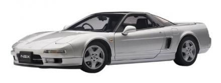 Honda NSX 1990 – Sebring Silver in 1:18 Scale