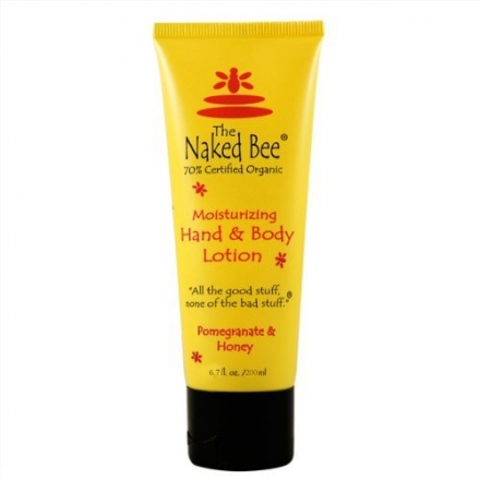 The Naked Bee Pomegranate & Honey Moisturizing Hand & Body Lotion 6.7 oz