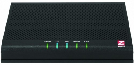 Zoom 5341 DOCSIS 3.0 Cable Modem 5341J