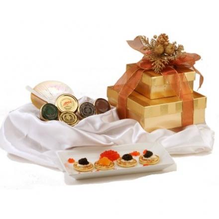 American Caviar Gift Basket