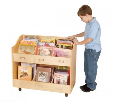 Guidecraft Mobile Book Organizer