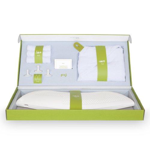 Puj Splash – Newborn Bath Set- White
