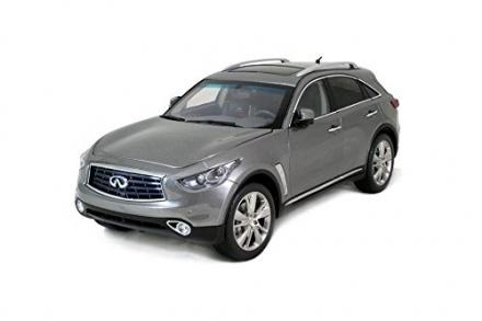 [USA Locations Only] Paudi Model 1/18 Infiniti Qx70 2014 Grey Diecast Model Car