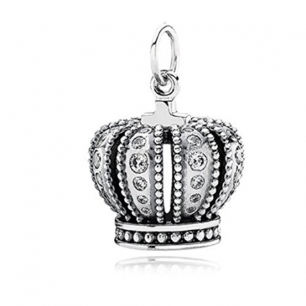Pandora Sterling Silver 390346 Royal Crown Pendant Ale 925