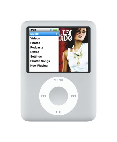 Apple iPod nano 8 GB Silver (3rd Generation) (Discontinued by Manufacturer)