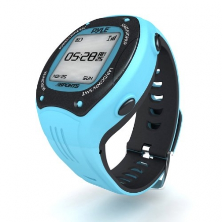 Pyle Pro GPS Sports Watch Workout Trainer – ANT+ Heart Rate Monitor Compatible – For Tracking Runnin