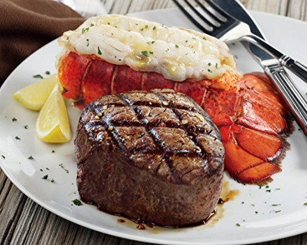 Kansas City Steaks 4 (8oz.) Filet Mignon And 4 (5oz) Lobster Tails