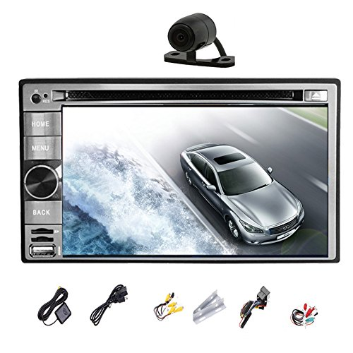 Universal Car Video Player 6.2 Inch Android 4.2 Double 2Din Car DVD Player Navigation Car Stereo Rad