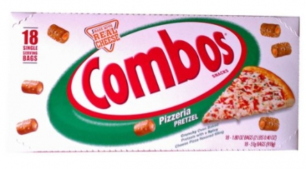 Combos Pizzeria Pretzel 18CT Box.