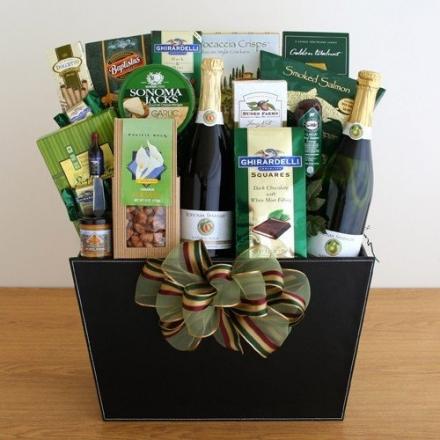 A Magnificient Celebration Gourmet Gift Basket