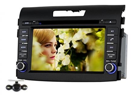 Pumpkin 7 Inch For HONDA CR-V 2012-2014 In Dash HD Touch Screen Car DVD Player GPS/SWC/SD/USB/BT/FM/