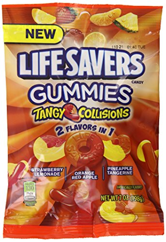 Lifesavers Gummies Tangy Collision, 7 Ounce (Pack of 12)