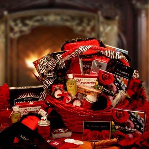 Gift Basket Drop Shipping 8161212 Naughty Nights Couples Romantic Gift Basket