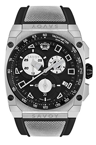Savoy Icon Extreme – Chrono – Black Dial – Black Strap Men's Watch