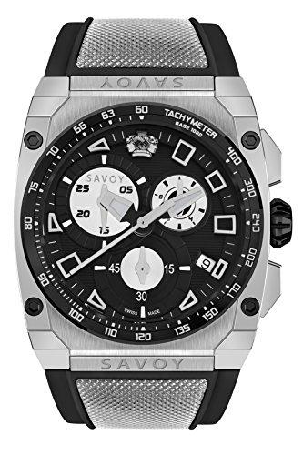 Savoy Icon Extreme – Chrono – Black Dial – Black Strap Men's Watch