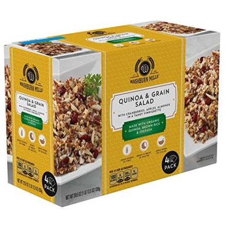 Washburn Mills Quinoa and Grains Salad (29.5 oz., 4 pk.)