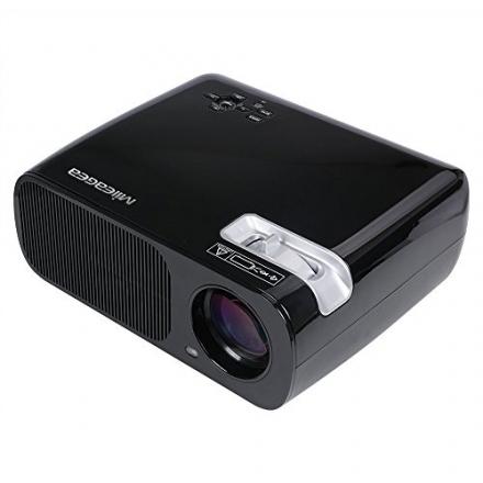 Mileagea LED Mini Projector 800×480 Portable HD Projector 2600 Lumens 2 Hdmi 2 USB VGA TV/DTV YPBPR