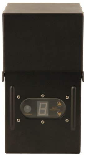 Moonrays 95434 300-Watt Power Pack Control Box with Timer and Sunlight Sensor