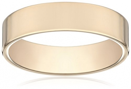 Men's 14k Yellow Gold 6mm Comfort Fit Wedding Band