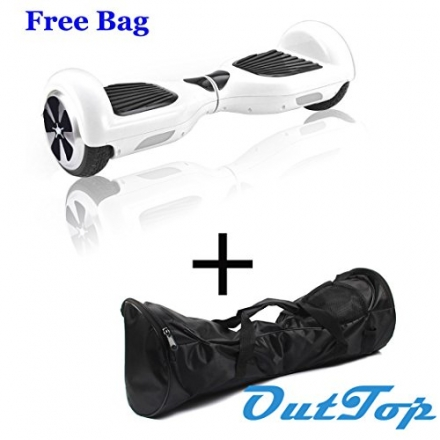 Outtop Two Wheels Self Balancing Mini Smart Electric Scooter Unicycle (WH)