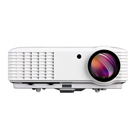 EUG Hdmi Portable 1080p Widescreen LED LCD Projector 3500 Lumens Hd Red&blue 3d Ready for Home Cinem