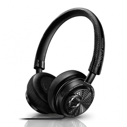 Philips M2L/27 Fidelio Premium Headphones with Lightning Connector for Apple iOS with Deluxe Memory