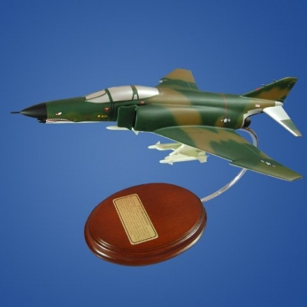 Mastercraft Collection F-4E Phantom II Wooden Model