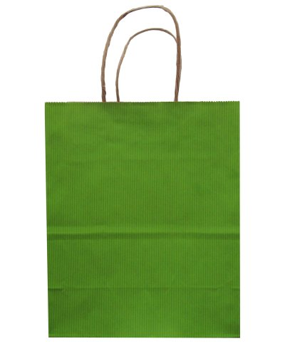 Jillson Roberts Bulk Medium Recycled Kraft Bags, Lime, 250-Count (BMK941)