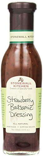 Stonewall Kitchen Dressing, Strawberry Balsamic, 11 Ounce