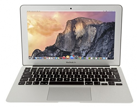 Apple 11.6 inch MacBook Air MJVM2LL/A laptop NEWEST VERSION (1.6 GHz Intel i5, 128 GB SSD, Integrate
