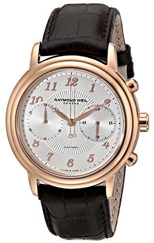 Raymond Weil Men's 4830-PC5-05658 Maestro Rose Gold-Tone Sta