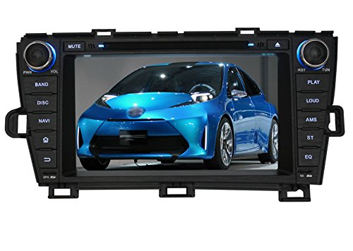 Pumpkin 8 inch Android 4.4 Kitkat For Toyota Prius 2009-2013 Double Din In Dash HD Capacitive Touch