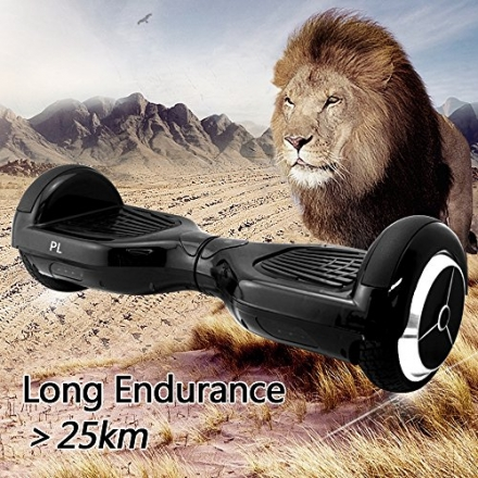 PL Two Wheels Smart Self Balancing Drifting Scooter Board Electronic Mini Unicyle Transporter with L