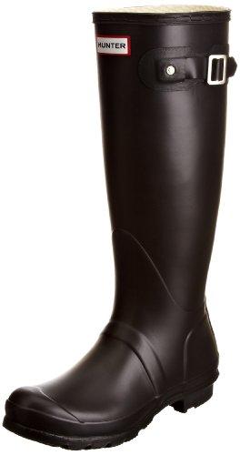Hunter Womens Original Tall Classic Wellington Boots, Black, 8F