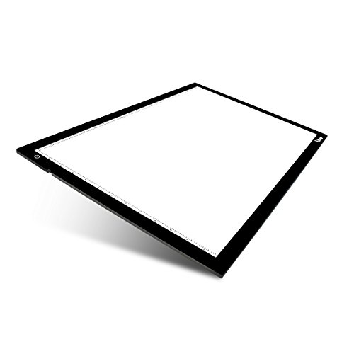 Litup® L22.44×W14.68 inch (LP2) Largest LED Light Box Light Pad Tattoo Tracing Board Used in Anima
