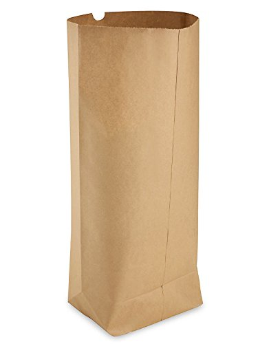 Paper Grocery Bags – 17 x 6 x 29″, 1/4 Barrel, Kraft- ULINE – 250/bundle