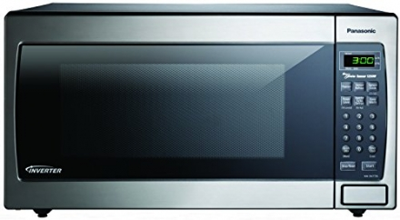 Panasonic NN-SN773SAZ Countertop/Built-In Microwave with Inverter Technology, 1.6 cu. ft., Silver