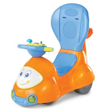 Chicco 4-in-1 Ride-On Car, Orange