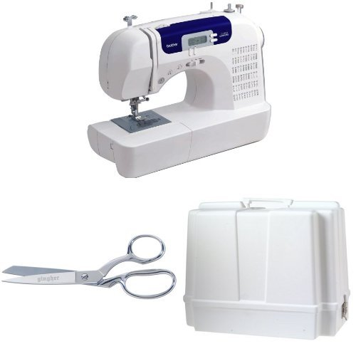 Brother CS6000i Sewing Machine with Shears and Carrying Case