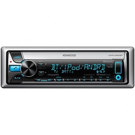 Kenwood KMR-D562BT Marine CD/MP3 Player – 88 W RMS – iPod/iPhone Compatible – Single DIN KMRD562BT
