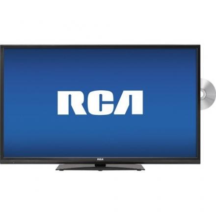 RCA LED40G45RQD 40″ LED 1080P HDTV DVD Combo (Black)